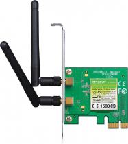 PLACA DE REDE WIRELESS PCI-EXPRESS 300MBPS C/ LOW PROFILE TL-WN881ND - 1