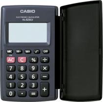 CALCULADORA DE BOLSO 8 DIGITOS HL-820LV-BK-S4-DP PRETA, COM TAMPA ABRE E FECHA