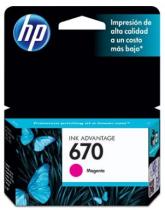 CARTUCHO DE TINTA HP CZ115AB 670 MAGENTA