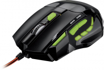 MOUSE LASER GAMER PERFORMANCE USB 2400DPI MO208 PRETO - 1