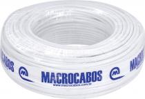 CABO COAXIAL RGC-59 47% BRANCO 100 METROS - 1