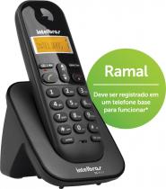 RAMAL SEM FIO DIGITAL COM IDENTIFICADOR DE CHAMADAS TS 3111 PRETO - 1