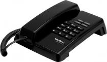 TELEFONE TC50 PREMIUM FUNÇÃO FLASH, REDIAL, PAUSE E MUTE PRETO