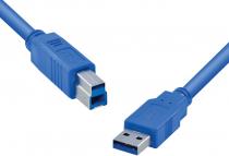 CABO USB PARA IMPRESSORA 3.0 USB A X USB B 2M - U3AMBM-2 - 1