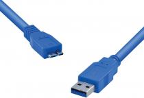 CABO PARA HD EXTERNO USB 3.0 A MACHO X MICRO USB B MACHO 1.2 METROS U3AMBMC-12 - 1