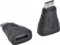 ADAPTADOR MINI HDMI MACHO X HDMI FEMEA AHF-MH