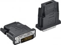 ADAPTADOR DVI MACHO X HDMI FEMEA AHF-DVI - 1