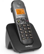 TELEFONE SEM FIO COM ID E COM ENTRADA PARA FONE DE OUVIDO TS 5120 PRETO - 1