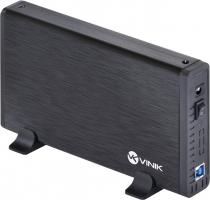 """CASE EXTERNO HD 3.5"""" ALUMÍNIO COM CHAVE I/O USB 3.0 - CHDA-200"""