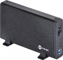 "CASE EXTERNO HD 3.5"" ALUMINIO COM CHAVE I/O USB 3.0 - CHDA-200"