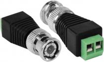 PLUG CONECTOR BNC COM BORNE MACHO - SV30