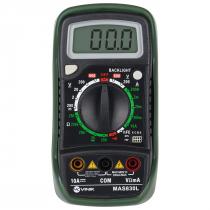 MULTIMETRO DIGITAL COM DATA HOLD 4 DIGITOS - MAS830L - 1