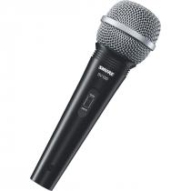 MICROFONE PROFISSIONAL VOCAL COM FIO SV100 COM CABO 4,5 METROS - 1