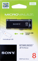 PEN DRIVE SONY RETRÁTIL 8GB USM8GR