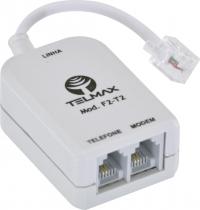 FILTRO ADSL2+ RESIDENCIAL DUPLO F2-T2 CINZA - 1