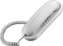 TELEFONE GÔNDOLA TCF 1000 BRANCO COMPATÍVEL COM CENTRAIS PÚBLICAS E PABX - FUNÇÃO FLASH E REDIAL - 1