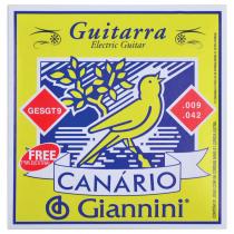 ENCORDOAMENTO PARA GUITARRA CANARIO TENSAO MEDIA  .009 - GESGT9 - 1