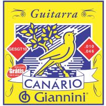 ENCORDOAMENTO PARA GUITARRA CANARIO .010 - GESGT10