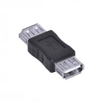 EMENDA USB 2.0 FÊMEA - AUSBF - PACOTE COM 5 UNIDADES - 1