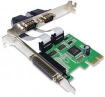 PLACA PCI EXPRESS 2 SERIAL + 1 PARALELA - GA128 - 1