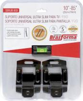 """SUPORTE UNIVERSAL ULTRA SLIM PARA TV/FIXO 10"""" A 85"""" - SBRUB859 - 1"""