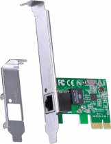 PLACA DE REDE 10/100 PCI-E PRV100E COM SUPORTE LOW PROFILE - 1