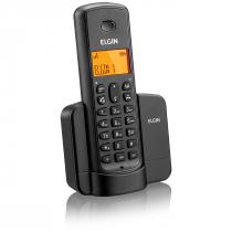 TELEFONE SEM FIO COM IDENTIFICADOR E VIVA VOZ TSF8001 PRETO - 1