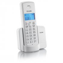 TELEFONE SEM FIO COM IDENTIFICADOR E VIVA VOZ TSF8001 BRANCO - 1