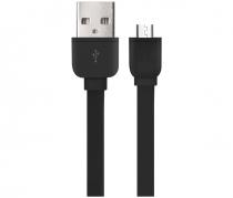 CABO MICRO USB 5 PINOS RECARREGA E TRANSFERE DADOS 1 METRO PRETO WI325