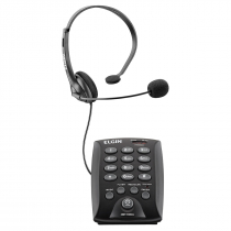 TELEFONE HEADSET HST-6000 PRETO - 1