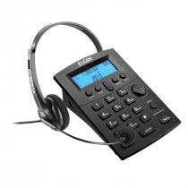 TELEFONE HEADSET COM IDENTIFICADOR DE CHAMADAS HST-8000 PRETO - 1
