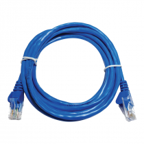 PATCH CORD UTP CAT5E 26AWG 2.5M AZUL - 1