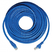 PATCH CORD UTP CAT5E 26AWG 20M AZUL - 1
