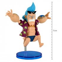 FIGURE ONE PIECE - FRANKY - WCF HISTORY RELAY 20TH REF.26628/26633 - 1