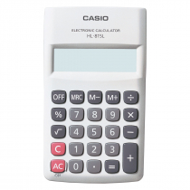CALCULADORA DE BOLSO 8 DÍGITOS HL-815L-WE-S4-DP BRANCA