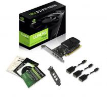 PLACA DE VIDEO NVIDIA QUADRO P400 2GB GDDR5 64 BITS 3 MINI DISPLAY PORT VCQP400-PORPB - SUPORTA ATÉ 3 MONITORES/TV - 1