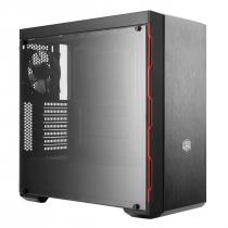 GABINETE MASTERBOX MB600L MCB-B600L-KANN-S00 - BORDA RED - 1