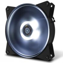 FAN PARA GABINETE MASTERFAN 120MM MF120L LED BRANCO - R4-C1DS-12FW-R1