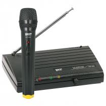 MICROFONE SEM FIO DE MÃO, FREQUENCIA VHF ALCANCE 50 METROS VHF695 - 1