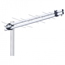 ANTENA EXTERNA LOG PERIÓDICA UHF HDTV 8 ELEMENTOS POP 11DBI LU-8P - 1