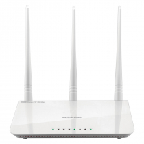 ROTEADOR WIRELESS N 300MBPS IPV6 COM 3 ANTENAS RE163V - 1