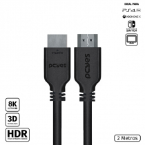 CABO HDMI ULTRA 2.1 28AWG PURO COBRE 8K 2 METROS - PHM21-2 - 1