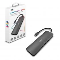 HUB USB-C  MULTI FUNÇÃO E HDMI - CB-CU301MDSH VANTEC - 1