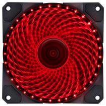 FAN/COOLER VX GAMING V.LUMI 33 PONTOS DE LED 120X120 VERMELHO - VLUMI33R - 1