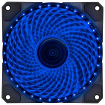 FAN/COOLER VX GAMING V.LUMI 33 PONTOS DE LED 120X120 AZUL - VLUMI33B - 1