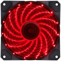 FAN/COOLER VX GAMING V.LUMI 15 PONTOS DE LED 120X120 VERMELHO - VLUMI15R - 1
