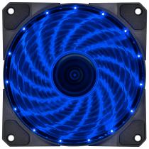 FAN/COOLER VX GAMING V.LUMI 15 PONTOS DE LED 120X120 AZUL - VLUMI15B - 1