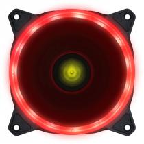 FAN/COOLER VX GAMING PARA GABINETE V.RING ANEL DE LED 120X120MM VERMELHO - VRINGR - 1