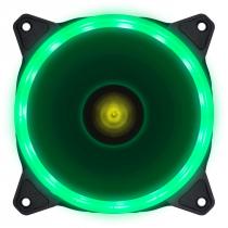 FAN/COOLER VX GAMING PARA GABINETE V.RING ANEL DE LED 120X120MM VERDE - VRINGG - 1