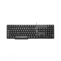 TECLADO SLIM STANDARD PS2 PRETO TC225